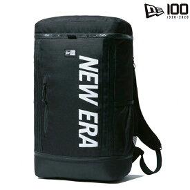 【あす楽対応】ニューエラ ボックスパック 32L【BOX PACK PRINT LOGO BAG/BLK】 NEW ERA 20_8RE NE2020FW リュックサック
