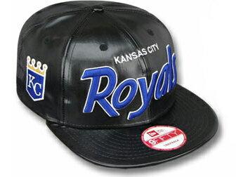 NEW ERA KANSAS CITY ROYALS 【REDUX SNAPBACK/BLK-RYL】 ニューエラカンザスシティ ロイヤルス 9FIFTY スナップバック [帽子 ヘッドギア new era cap ニューエラキャップ new eraキャップ 大きい サイズ メンズ レディース 青木宣親 ポストシーズン2014 MLB POST SEASON]