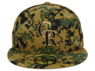 auc-amazingstore  NEW ERA COLORADO ROCKIES new era Colorado Rockies    Memorial Day 59 FIFTY CAP Camo  da1f98c2d93a