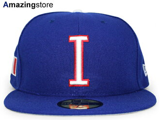 NEW ERA WORLD BASEBALL CLASSIC new gills Italy on field 59FIFTY フィッテッドキャップ FITTED CAP WBC blue blue [hat BIG_SIZE 17_2_5WBC 17_3_1]