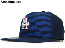 NEW ERA LOS ANGELES DODGERS  2015 JULY 4TH STARS N STRIPES NAVY  ニューエラ  ロサンゼルス ドジャース オンフィールド 59FIFTY フィッテッド キャップ FITTED ... 6c88ce373a06