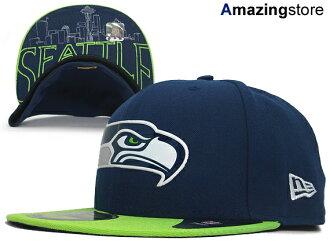 89b11854 NEW ERA SEATTLE SEAHAWKS new era Seattle Seahawks draft 59FIFTY fitted cap  FITTED CAP [NFL official model football Hat headgear CAP caps men's 15 _ 6  _ 1 _ ...