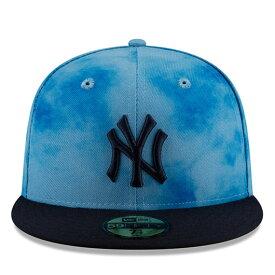 【父の日モデル】ニューエラ 59FIFTY ニューヨーク ヤンキース 【MLB 2019 FATHERS DAY ON-FIELD/BLUE-NAVY】 NEW ERA NEW YORK YANKEES [19_5_5NE 19_6_1]