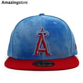 【父の日モデル】ニューエラ 59FIFTY ロサンゼルス エンゼルス 【MLB 2019 FATHERS DAY ON-FIELD/BLUE-RED】 NEW ERA LOS ANGELES ANGELS [19_5_5NE 19_6_1]