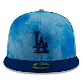 【父の日モデル】ニューエラ 59FIFTY ロサンゼルス ドジャース 【MLB 2019 FATHERS DAY ON-FIELD/BLUE-BLUE】 NEW ERA LOS ANGELES DODGERS [19_5_5NE 19_6_1]