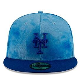 【父の日モデル】ニューエラ 59FIFTY ニューヨーク メッツ 【MLB 2019 FATHERS DAY ON-FIELD/BLUE-BLUE】 NEW ERA NEW YORK METS [19_5_5NE 19_6_1]