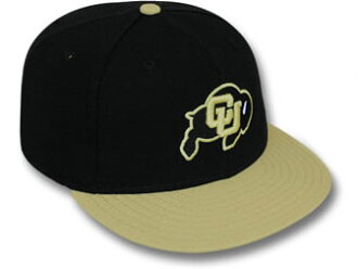 NEW ERA COLORADO BUFFALOES新埃拉科罗拉多水牛59FIFTY FITTED CAP fitteddokyappu[帽子脑袋齿轮new era cap新埃拉盖子大的尺寸16_3_4 16_3_5 16_3RE]