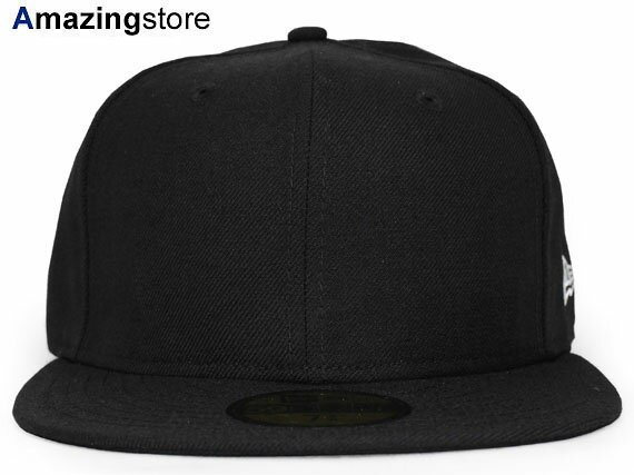 【全35種類以上】NEW ERA 【59FIFTY-BLANK/BLK】 ニューエラ フラッグ 59FIFTY FITTED CAP [BIG_SIZE 17_10_4 17_10_5 17_10RE]