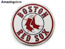 眼色筏波士頓紅襪隊[BOSTON RED SOX MLB LOGO TEAM PIN]WINCRAFT[for3000 18_6_4ACC]