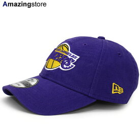 ニューエラ 9TWENTY ロサンゼルス レイカーズ 【NBA CORE CLASSIC STRAPBACK/PUR】 NEW ERA LOS ANGELES LAKERS [19_3_2NE]