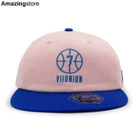 【あす楽対応】7ユニオン ストラップバック 【THE BALLER STRAPBACK CAP/PINK-BLUE】 7UNION [19_10_1SU19_10_2]