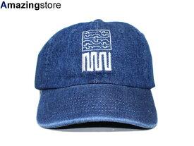 【あす楽対応】【全3色】CLR 【6PANEL CAP UNTITLED #1 NOTHING IS PERMANENT/DK BLUE DENIM】 シーエルアール