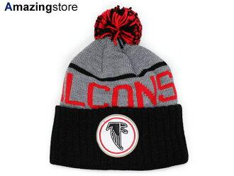 MITCHELL NESS ATLANTA FALCONS Mitchell   Ness Atlanta Falcons knit hat  Beanie  Hat head gear new era cap new era caps new era Cap newera Cap large  size mens ... 361caeaf9