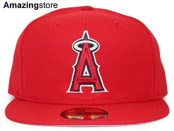 【あす楽対応】ニューエラ ロサンゼルス エンゼルス オブ アナハイム 【MLB OLD AUTHENTIC COLOR GAME 2000-2006 HOME/RED】 NEW ERA LOS ANGELES ANGELS OF ANAHEIM [18_4_1COOP]