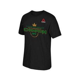 【海外取寄】コナー マクレガーモデル UFC Tシャツ【KING FEATHERWEIGHT T-SHIRT/BLK】 REEBOK リーボック [20_5RE]