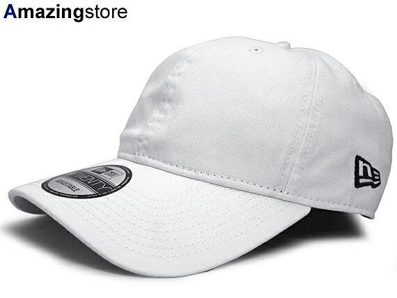 NEW ERA 【9TWENTY CLOTH STRAPBACK/WHT】 ニューエラ ストラップバック ロープロファイルキャップ LOW PROFILE DAD HAT PLAIN プレーン BASIC ベーシック BLANK WHITE ホワイト 白 [キャップ 帽子 メンズ レディース 18_4RE]