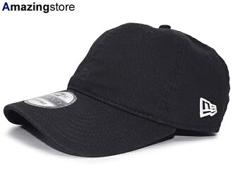 NEW ERA new Erastus lap backstrap back row profile cap LOW PROFILE BLANK BLACK black [cap hat headgear size 17_2_2NE17_2_3]