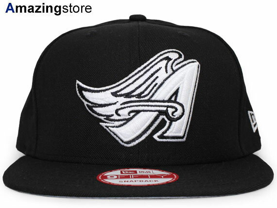 NEW ERA LOS ANGELES ANGELS OF ANAHEIM 【COOP TEAM-BASIC SNAPBACK/BLK-WHT】 17_12_3aag