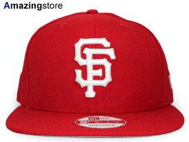 f2460799b264e NEW ERA SAN FRANCISCO GIANTS  TEAM-BASIC SNAPBACK RED-WHT  ニューエラ サンフランシスコ  ジャイアンツ 9FIFTY スナップバック MLB レッド 赤 WHITE ホワイト 白 ...