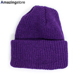 【全22色/パープル】BRONER 【VALUE KNIT CUFF BEANIE/PURPLE】ブローナー 18_11_4 18_11_5