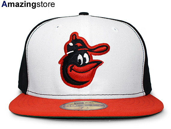 NEW ERA BALTIMORE ORIOLES 【MLB COOPERSTOWN RIPKEN ROOKIE 1975-88 GAME/WHT-ORG-BLK】 ニューエラ ボルチモア オリオールズ [17_12RE]