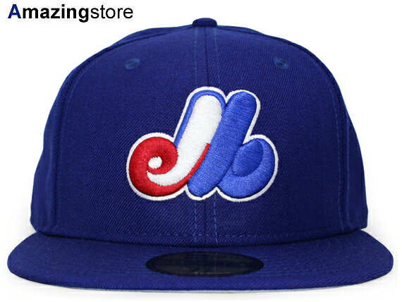 NEW ERA MONTREAL EXPOS 【MLB COOPERSTOWN 2004 HOME/RYL BLUE】 ニューエラ モントリオール エクスポズ [18_6RE]