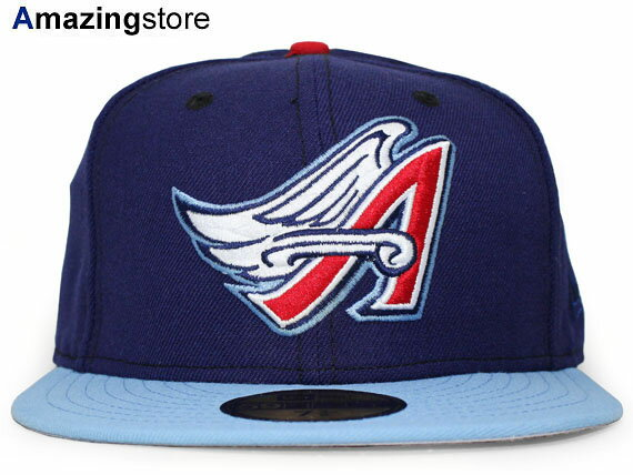 NEW ERA ANAHEIM ANGELS 【MLB COOPERSTOWN 2000 ALTERNATE/NAVY-LT BLUE】 17_12_3aag
