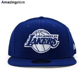 ニューエラ ロサンゼルス レイカーズ 9FIFTY スナップバック キャップ 【NBA TEAM-BASIC SNAPBACK CAP/RYL BLUE-WHITE】 NEW ERA LOS ANGELES LAKERS ブルー [20_1_3NE 20_1_4]