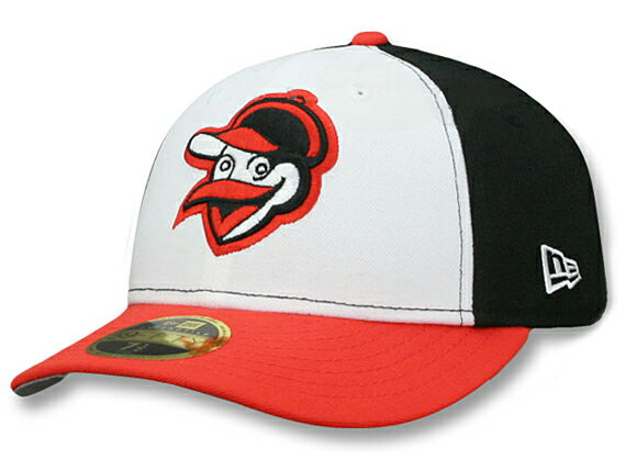 NEW ERA BALTIMORE ORIOLES 【MLB COOPERSTOWN 1963 LOW-CROWN VINTAGE FIT/WHT-BLK-ORG】 ニューエラ ボルチモア オリオールズ 59FIFTY フィッテッド キャップ FITTED CAP クーパーズタウン [帽子 メンズ レディース 17_6_3VIN_17_6_4]