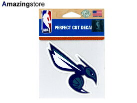 【あす楽対応】ウィンクラフト シャーロット ホーネッツ 【CHARLOTTE HORNETS NBA PERFECT CUT DECAL】 WINCRAFT [for3000 18_9RE]