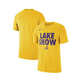 【海外取寄】ナイキ Tシャツ ロサンゼルス レイカーズ【ESSENTIAL TEAM ATTITUDE PERFORMANCE T-SHIRT/HT GOLD】NIKE LOS ANGELES LAKERS 19_7_4NBA19_7_5