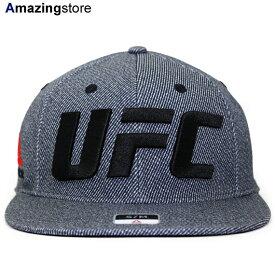 6b341b9c REEBOK UFC 【RAILROAD STRIPE FLAT VISOR FLEX/BLK】 リーボック [19_5RE]