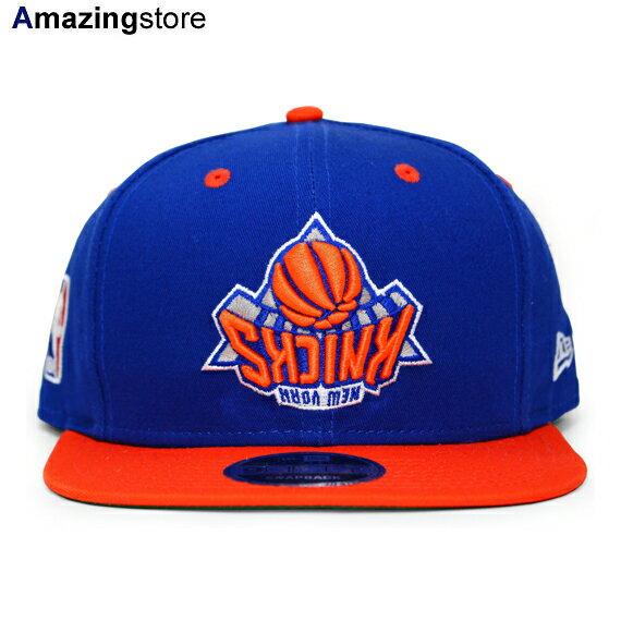 ニューエラ ニューヨーク ニックス 【NBA UPSIDE DOWN ORIGINAL FIT 9FIFTY/RYL BLUE-ORG】 NEW ERA NEW YORK KNICKS [18_9_3NE 18_9_4]