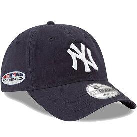 【海外取寄】ニューエラ 49FORTY ADJUSTABLE ニューヨーク ヤンキース【2018 POSTSEASON SIDE PATCH/NAVY】 NEW ERA NEW YORK YANKEES 18_9_5MLB18_10_1