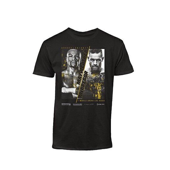 【海外取寄】フロイド メイウェザー vs コナー マクレガーモデル UFC【FLOYD MAYWEATHER vs CONOR McGREGOR EVENT T-SHIRT/BLK】 18_11_2UFC18_11_3