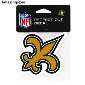 【あす楽対応】ウィンクラフト ニューオリンズ セインツ ステッカー 【NEW ORLEANS SAINTS NFL PERFECT CUT DECAL】 WINCRAFT [for3000 19_10_5ACC 19_11_1]