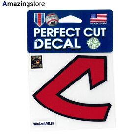 【あす楽対応】ウィンクラフト ステッカー クリーブランド インディアンス 【CLEVELAND INDIANS MLB COOPERSTOWN PERFECT CUT DECAL-2】 WINCRAFT [for3000 19_9RE 19_10RE]
