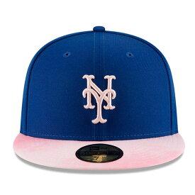 【母の日モデル】ニューエラ 59FIFTY ニューヨーク メッツ 【MLB 2019 MOTHERS DAY ON-FIELD/RYL BLUE-PINK】 NEW ERA NEW YORK METS [19_5_2NE 19_5_3]