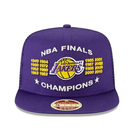 ニューエラ 9FIFTY メッシュキャップ ロサンゼルス レイカーズ 【VINTAGE CHAMPION SERIES TRUCKER MESH/PUR】 NEW ERA LOS ANGELES LAKERS [19_5_4NE 19_5_5]