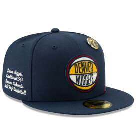ニューエラ 59FIFTY デンバー ナゲッツ 【2019 NBA DRAFT FITTED/NAVY】 NEW ERA DENVER NUGGETS [19_6_4NBA19_6_5]