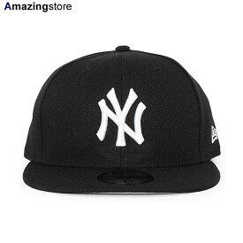 【あす楽対応】ニューエラ 59FIFTY ニューヨーク ヤンキース 【MLB TEAM-BASIC FITTED CAP/BLACK-WHITE】 NEW ERA NEW YORK YANKEES [/BLK BIG_SIZE 20_5_2NE 20_5_3]