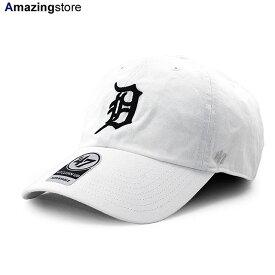 47ブランド デトロイト タイガース メンズ レディース 【MLB CLEAN UP STRAPBACK CAP/WHITE】 47BRAND DETROIT TIGERS ホワイト [/WHT 20_7_1FTS 20_7_2]