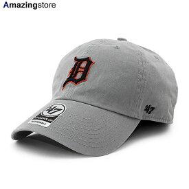 【あす楽対応】47brand キャップ 47ブランド デトロイト タイガース メンズ レディース 【MLB CLEAN UP STRAPBACK CAP/GREY】 47BRAND DETROIT TIGERS グレー [20_7_4FTS 20_7_5]