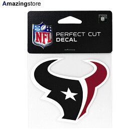【あす楽対応】ウィンクラフト ステッカー ヒューストン テキサンズ 【HOUSTON TEXANS NFL PERFECT CUT DECAL】 WINCRAFT [for3000 20_9_1ACC 20_9_2]