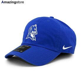 【男女兼用 あす楽対応】ナイキ デューク ブルーデビルズ 【NCAA HERITAGE 86 LOGO STRAPBACK CAP H86/RYL BLUE】 NIKE DUKE BLUE DEVILS ブルー [20_10_3NIKE 20_10_4]