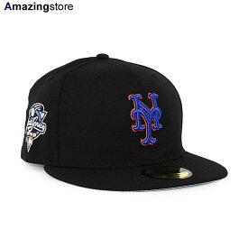 【あす楽対応】ニューエラ 59FIFTY ニューヨーク メッツ 【MLB 2000 WORLD SERIES GAME FITTED CAP/BLACK】 NEW ERA NEW YORK METS ブラック [/BLK 20_11_3NE 20_11_4]
