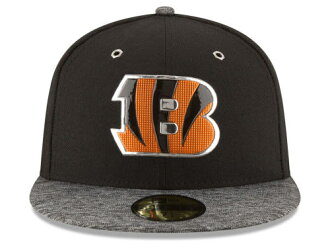 timeless design 1d17d 77a50 NEW ERA CINCINNATI BENGALS new gills Cincinnati Bengals draft 59FIFTY  フィッテッドキャップ FITTED CAP AUTHENTIC