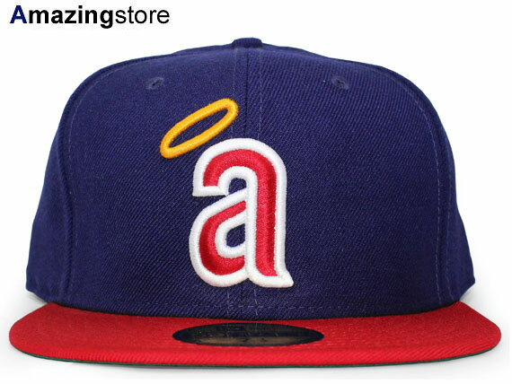 NEW ERA CALIFORNIA ANGELS 【MLB COOPERSTOWN CAREW 1971 GAME/NAVY-RED】 ニューエラ カリフォルニア エンゼルス [18_1_2COOP]