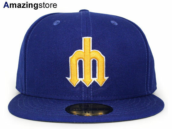 NEW ERA SEATTLE MARINERS 【MLB COOPERSTOWN 1987-91 GAME/RYL BLUE】 ニューエラ シアトル マリナーズ [18_1_2COOP]
