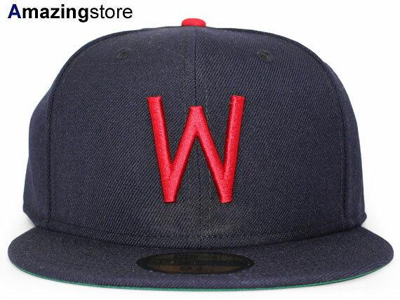 NEW ERA WASHINGTON SENATORS 【MLB COOPERSTOWN 1956-60 GAME/NAVY】 ニューエラ ワシントン セネターズ [18_1_2COOP]